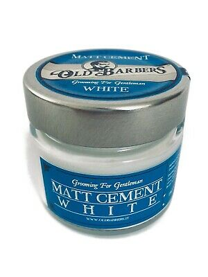 Old Barbers Hair Wax Cera Matt Cement White 100 ml