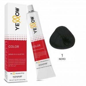 Yellow Color Argan Oil & AloeTrix 1 Nero 100 ml